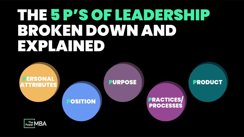 5 P's of Leadership