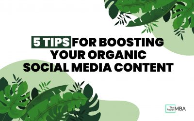 Organic Social Media: Promoting Your Business to the Masses, For Free