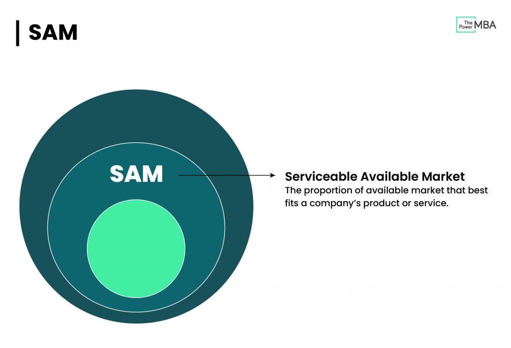 SAM Serviceable Addressable Market