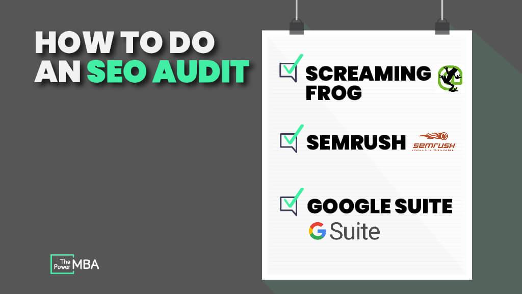 seo audit checklist