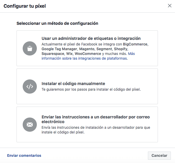 pixel facebook retargeting