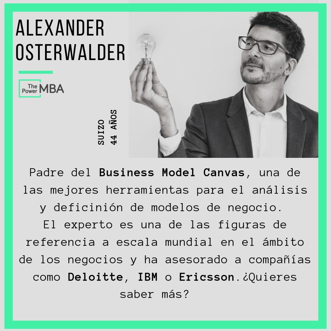 Todo sobre Alex Osterwalder, el padre del business model canvas