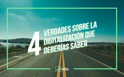 Aprender sobre Transformación Digital con 4 verdades.