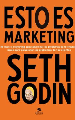Portada de Esto es marketing de Seth Godin