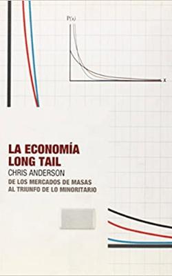 Portada de la Economía Longtail de Chris Anderson