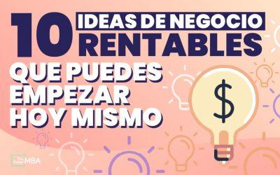 10 Ideas de negocio con poca inversión y mucho potencial