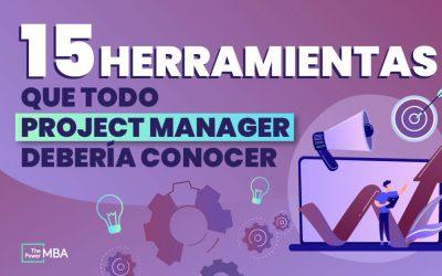 15 herramientas para la gestión de proyectos. [Reseña completa]